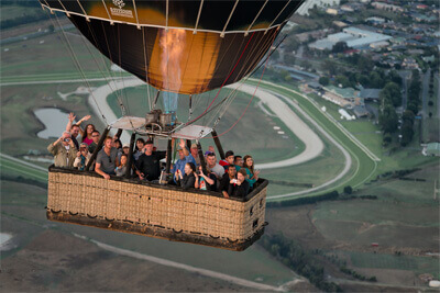 go Wild Ballooning Flight Information