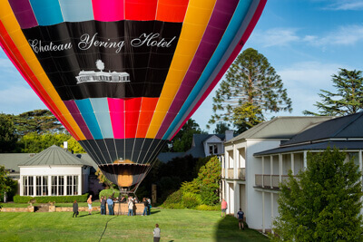 Go Wild Ballooning Chateau Yering Packages